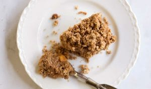 Spiced Caramel Apple Teff and Oat Bars
